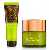 Набор: пилинг для лица Face2Face Exfoliating Peel и увлажняющий крем Dew Day Moisturizing Cream - For Normal To Dry Skin.